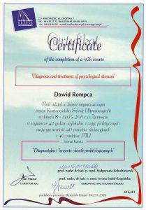 Leczenie chorób proktologicznych